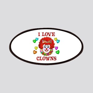 I Love Clowns Patches