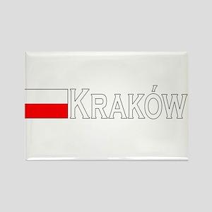 Krakow, Poland Rectangle Magnet