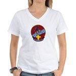 USS CAPODANNO Women's V-Neck T-Shirt
