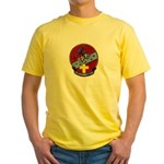 USS CAPODANNO Yellow T-Shirt