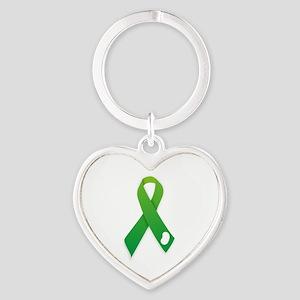 Green Ribbon Keychains