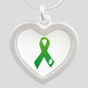 Green Ribbon Necklaces