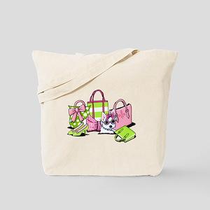 KiniArt Girlie Things Olivia Tote Bag