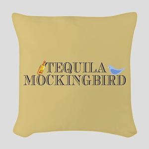 Tequila Mockingbird Woven Throw Pillow