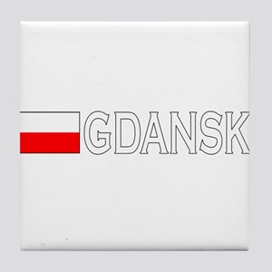 Gdansk, Poland Tile Coaster