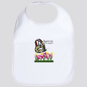 My Garden Is Home To The Butterflies! Bib