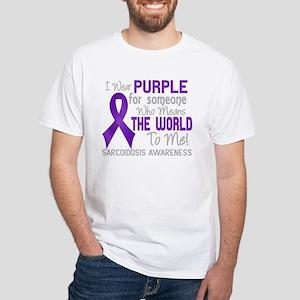 Sarcoidosis MeansWorldToMe2 T-Shirt