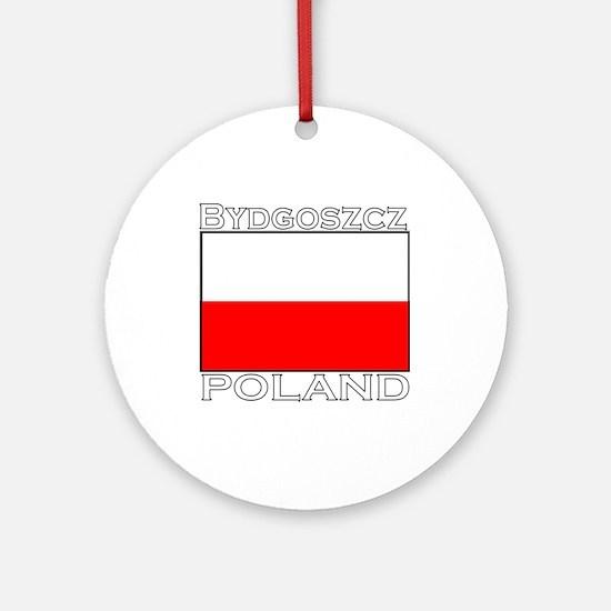 Bydgoszcz, Poland Ornament (Round)