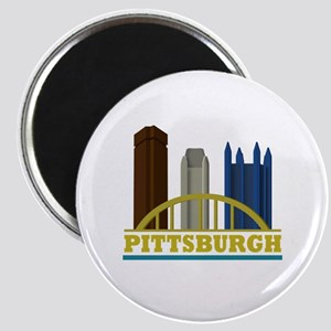 Pittsburgh Pennsylvania Skyline Magnet