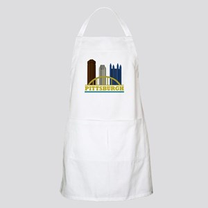 Pittsburgh Pennsylvania Skyline Apron