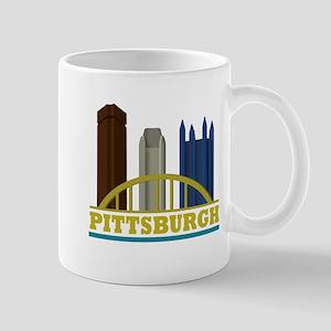 Pittsburgh Pennsylvania Skyline Mug