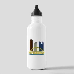 Pittsburgh Pennsylvani Stainless Water Bottle 1.0L