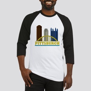 Pittsburgh Pennsylvania Skyline Baseball Jersey