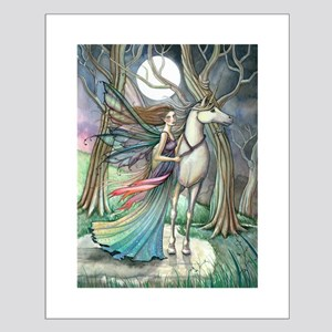 Forest of Dreams Fairy and Unicorn Fantasy Art Pos