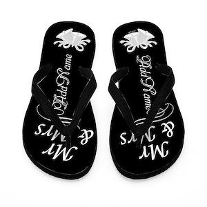 f4853adad Mrs Flip Flops - CafePress