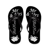 Husband and wife Flip Flops