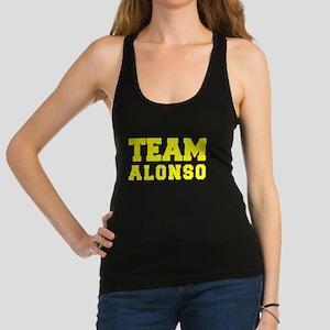 TEAM ALONSO Racerback Tank Top