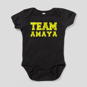 TEAM AMAYA Baby Bodysuit