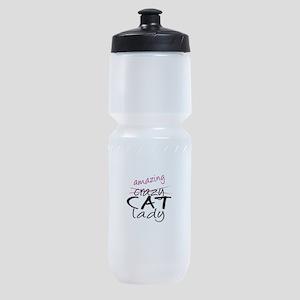 Crazy Cat Lady Sports Bottle
