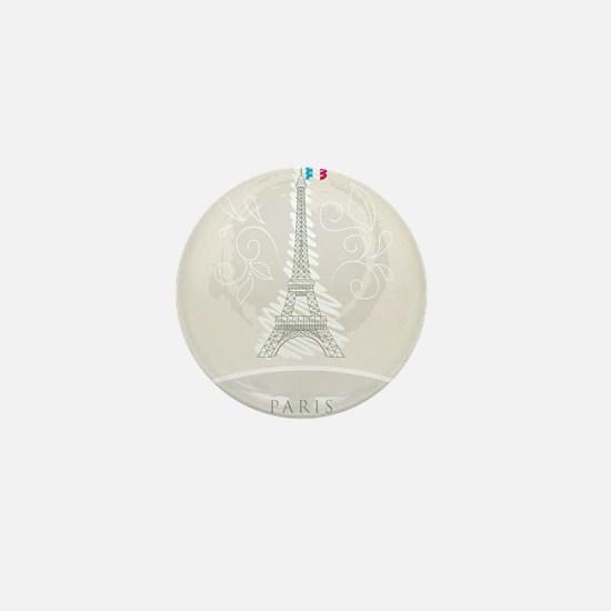 Beautiful Paris Mini Button