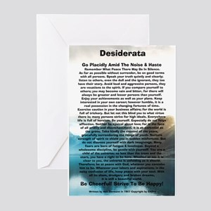 DESIDERATA Poem Dolphins s Greeting Cards