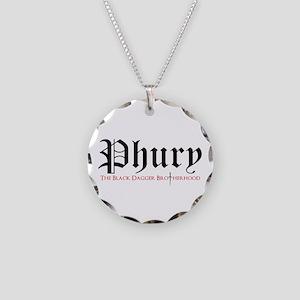 Phury Necklace Circle Charm