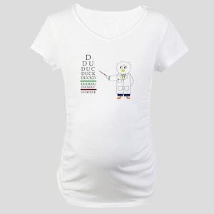 Eye Exam Maternity T-Shirt