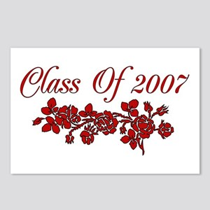Red Rose 2007 Graduate Postcards (Package of 8)