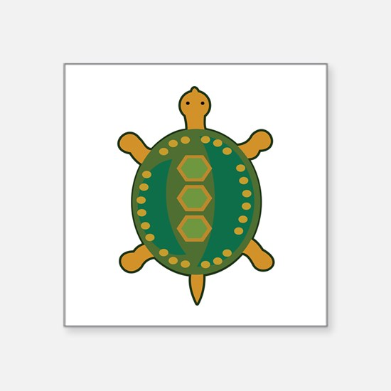 Tribal Turtle Sticker