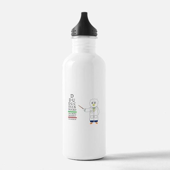 Eye Exam Water Bottle