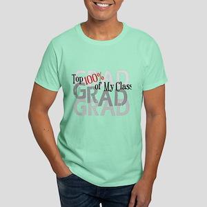 Funny Grad Top 100% Dark T-Shirt