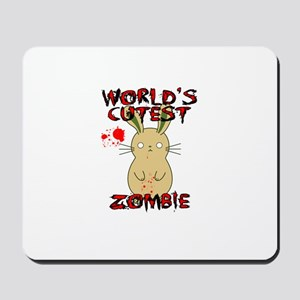 Worlds Cutest Zombie Mousepad