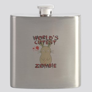 Worlds Cutest Zombie Flask