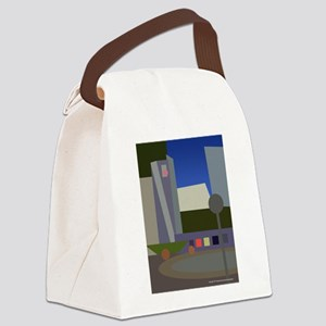 pershing square cawh Canvas Lunch Bag