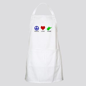 Peace Love Home BBQ Apron