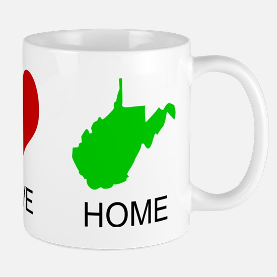 Peace Love Home Mug