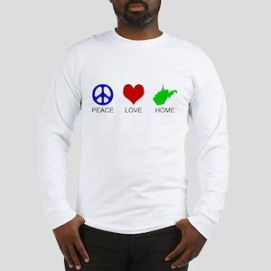 Peace Love Home Long Sleeve T-Shirt