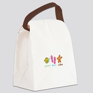 peace love cabo Canvas Lunch Bag