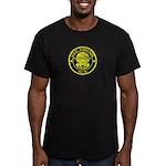 USS CASCADE Men's Fitted T-Shirt (dark)