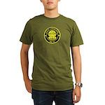 USS CASCADE Organic Men's T-Shirt (dark)