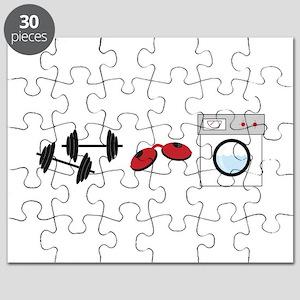 Gym Tan Laundry Puzzle