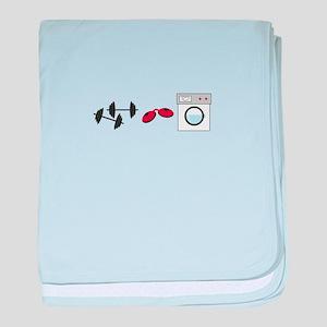 Gym Tan Laundry baby blanket