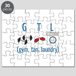 G T L (gym,tan,laundry) Puzzle