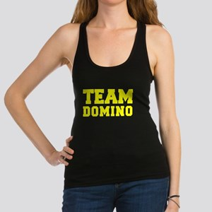 TEAM DOMINO Racerback Tank Top