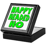 Nappy Headed Ho Green Design Keepsake Box