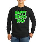 Nappy Headed Ho Green Design Long Sleeve Dark T-Sh