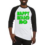 Nappy Headed Ho Green Design Baseball Jersey