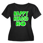 Nappy Headed Ho Green Design Women's Plus Size Sco