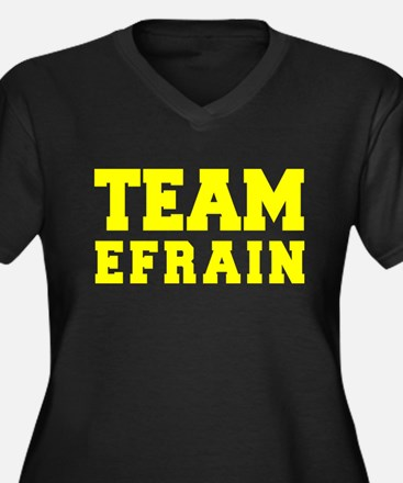 TEAM EFRAIN Plus Size T-Shirt