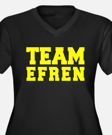 TEAM EFREN Plus Size T-Shirt